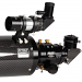 Close up of Feather Touch Focuser on Explore Scientific ED152 Carbon Fiber Refractor